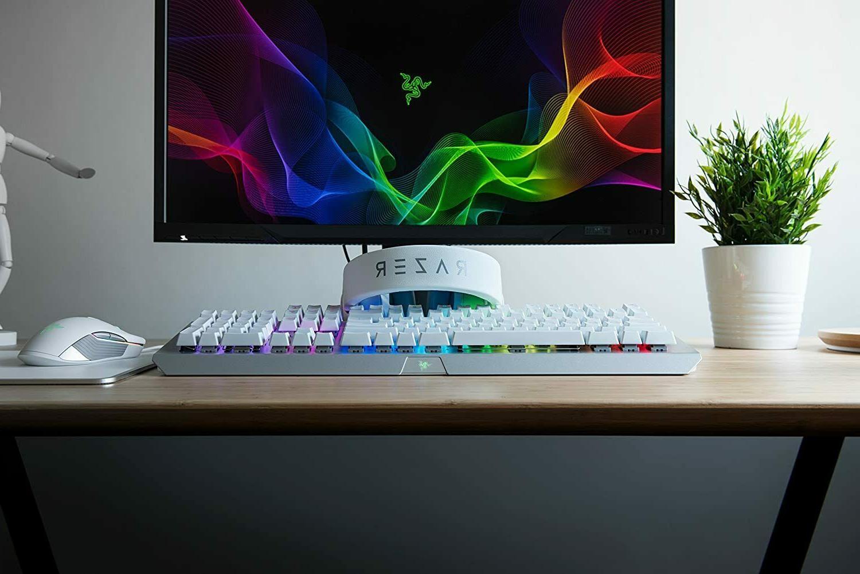 NEW Razer BlackWidow White RGB Light