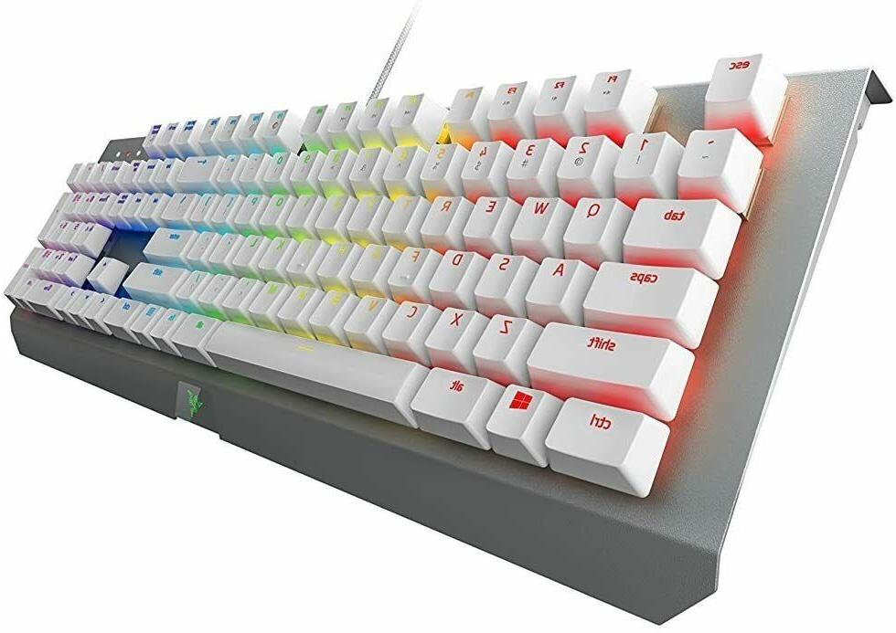 NEW White Mechanical Keyboard RGB