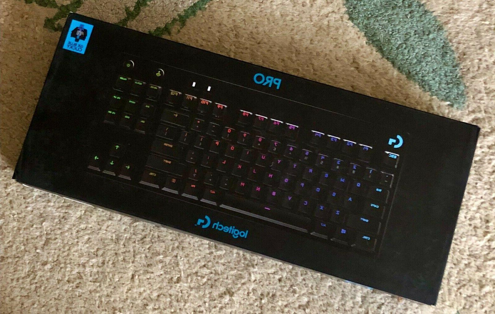 new g pro mechanical wired tkl gaming