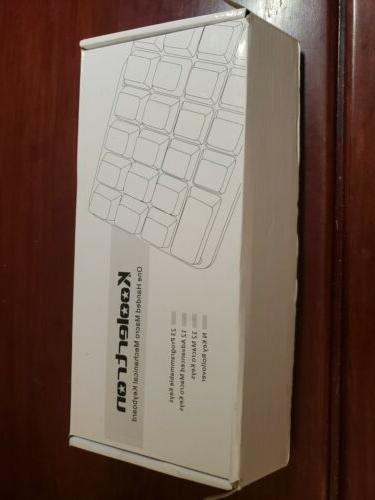 one handed macro mechanical keyboard new