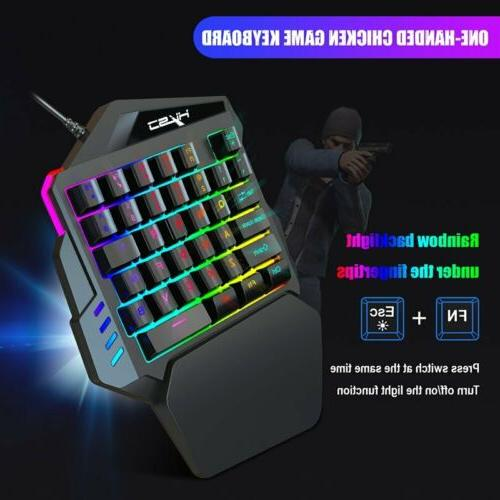 One Handed Gaming Keyboard + For PC