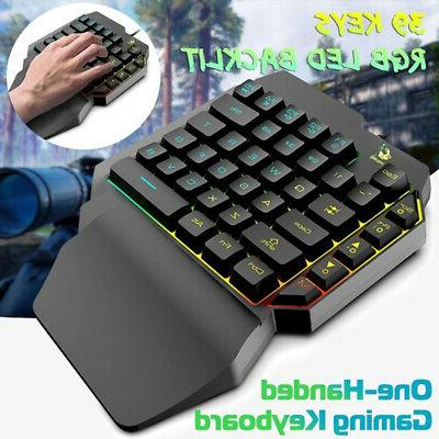 One-Handed Hand Game Keypad Game LOL/PUBG/