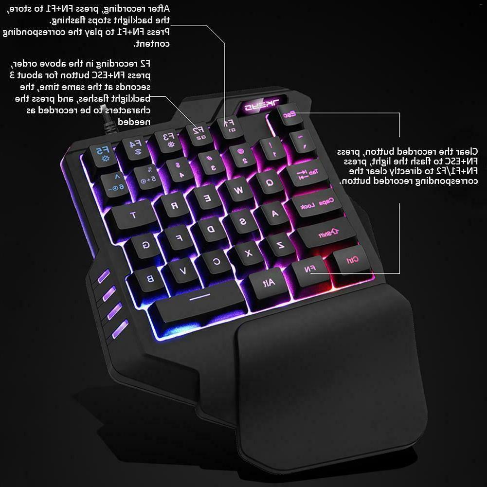 One-Handed Hand Game Keypad Game Fortnite