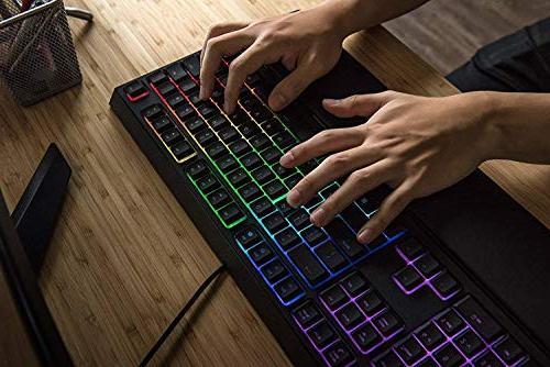 Razer - Keyboard with Mid-Height - RGB