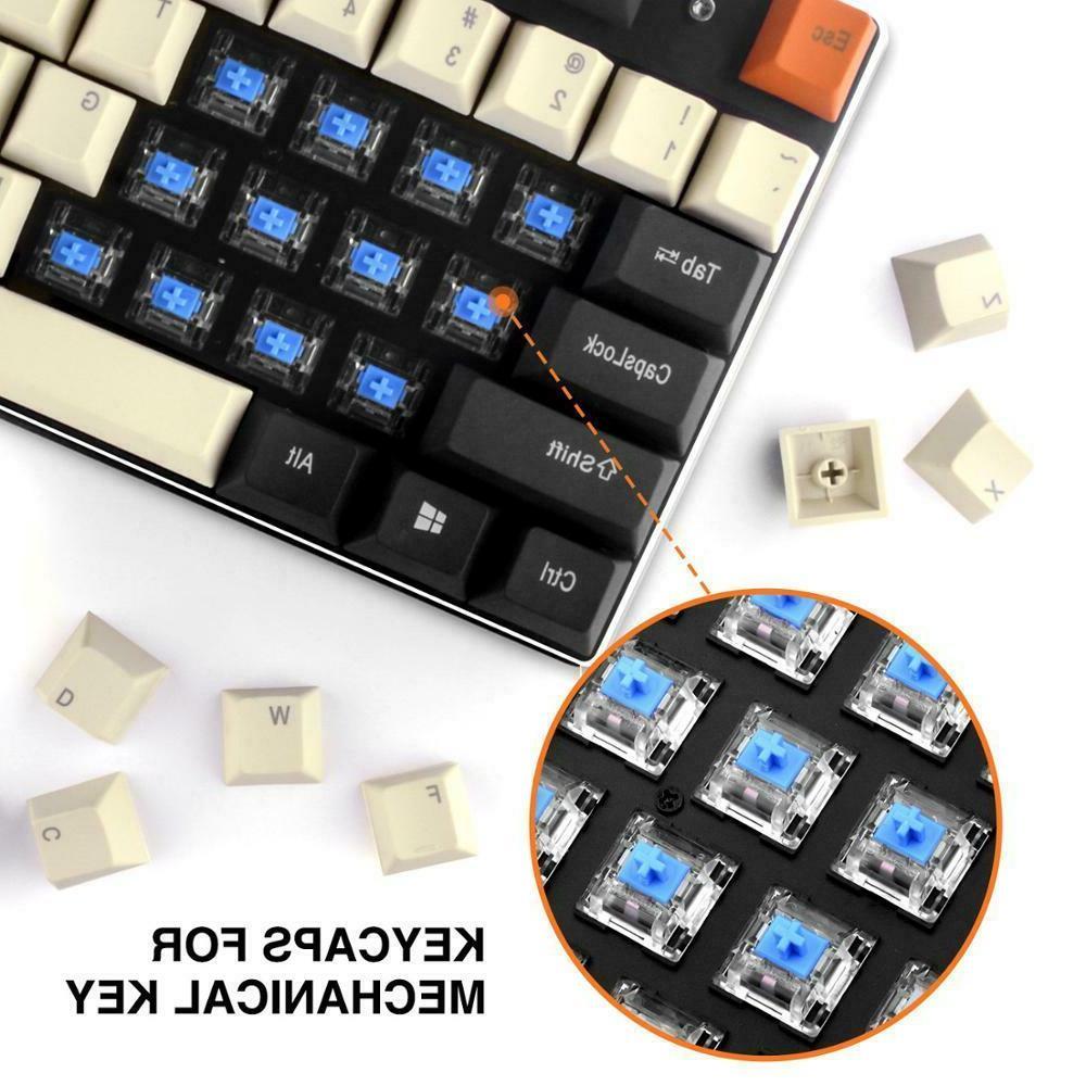 Havit PBT Keycaps for Mechanical DIY Black