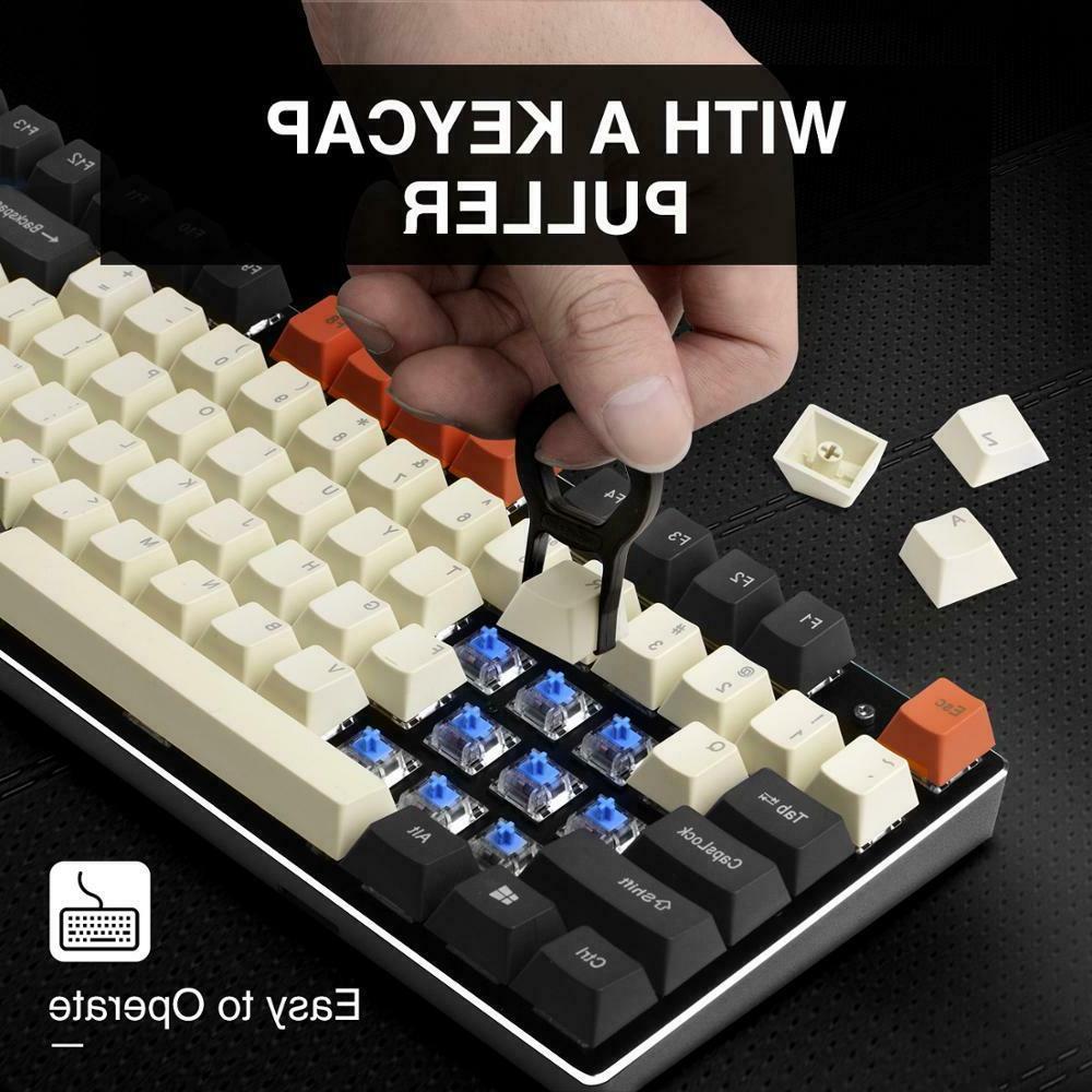 Havit PBT for Gaming Mechanical DIY Black