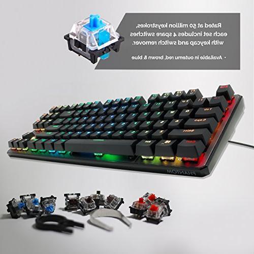 Tecware Mechanical Keyboard, Outemu Brown