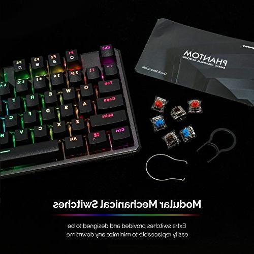 Tecware Mechanical Keyboard, led, Outemu