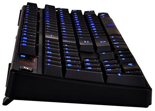 Thermaltake e Poseidon Blue with 4-Level Brightness LED Mechanical KB-PIZ-KLBLUS-06