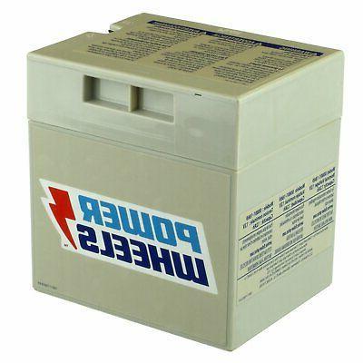 power wheels vehicle battery