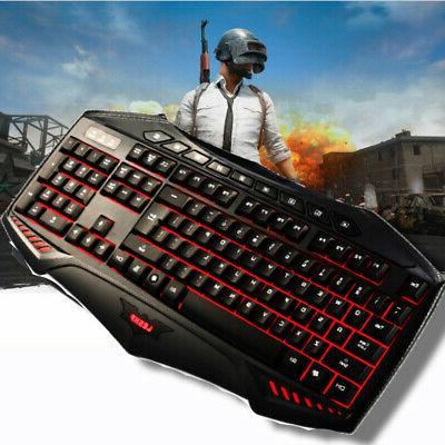 Pro Keyboard Backlit Feel Computer Desktop Pro Gamer