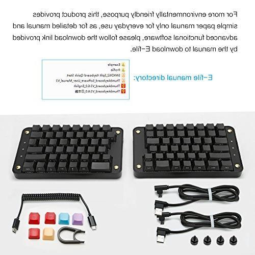 Koolertron Programmable Keyboard, All Macro Keys