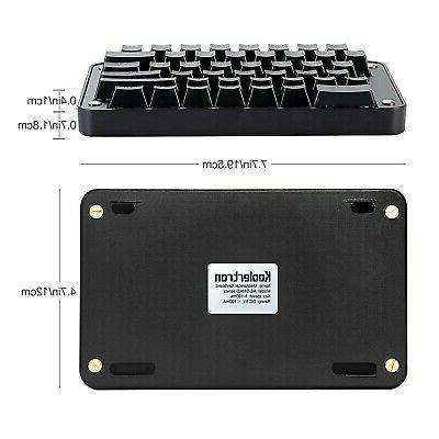 Koolertron Programmable Split Keyboard, Programmab...