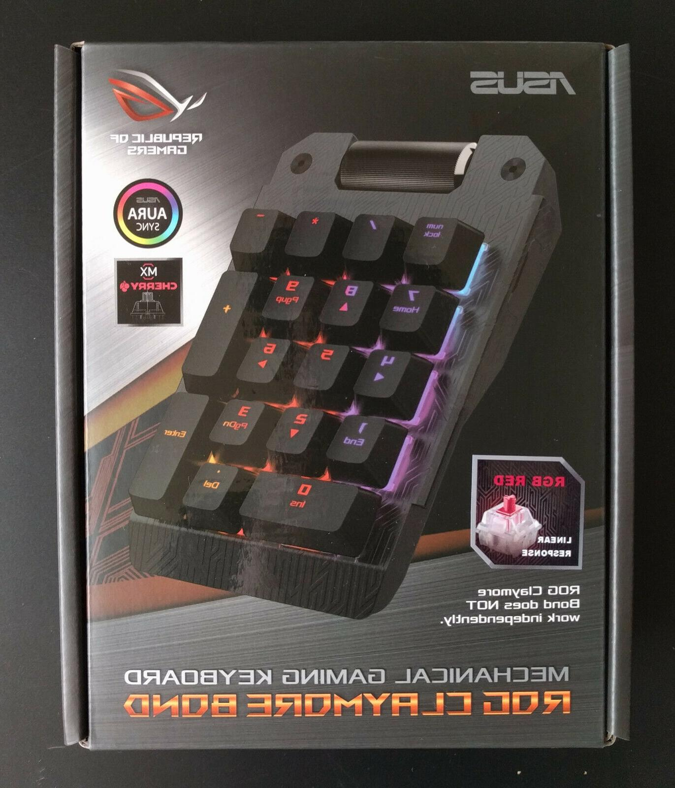 *PROMO!* Asus Claymore CORE & MX Red Keyboards