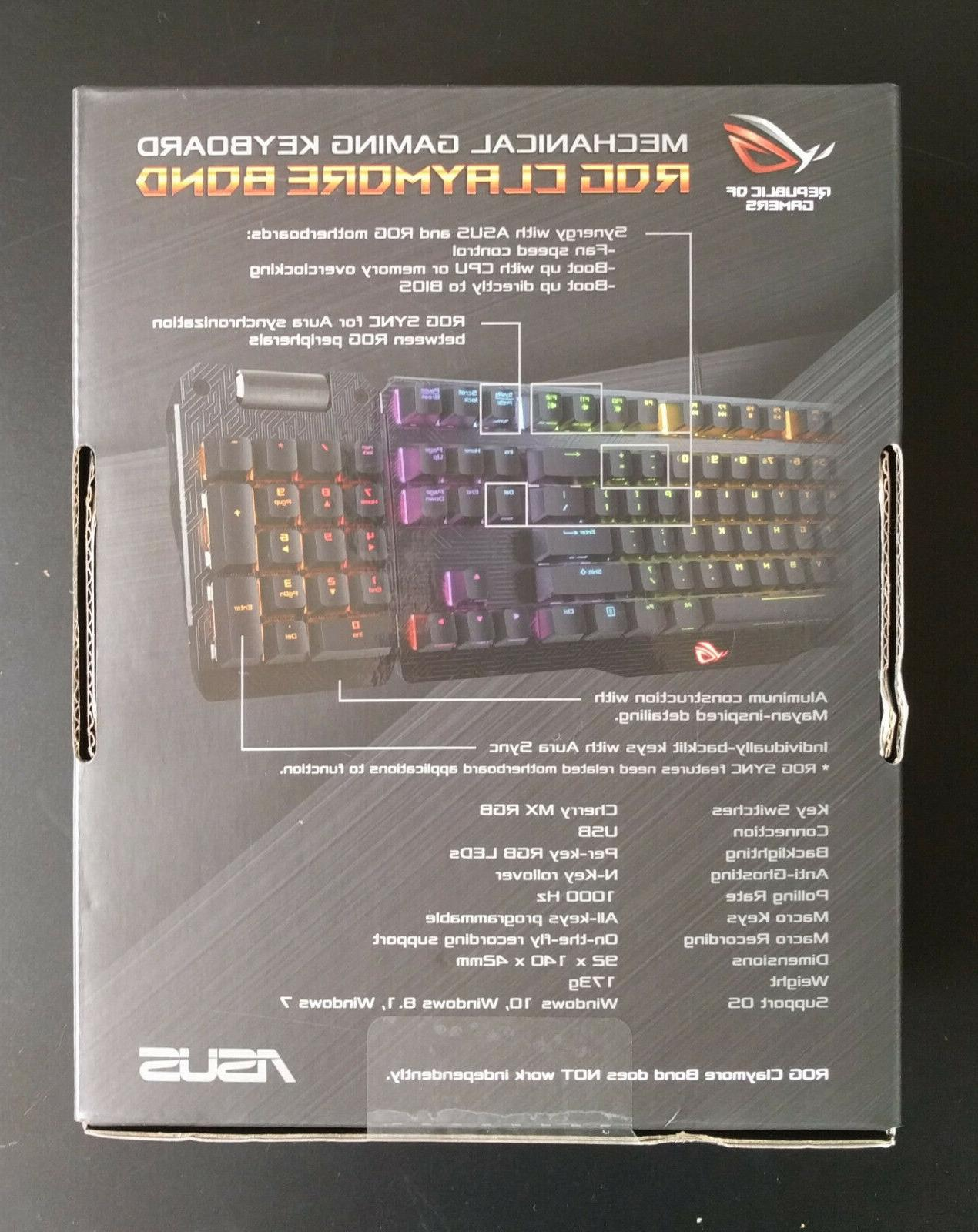 *PROMO!* ROG Claymore CORE MX RGB Red Mechanical Keyboards