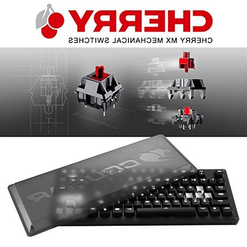 Cougar Puri Mechanical Gaming Keyboard Protective Cover Set Metallic Cherry