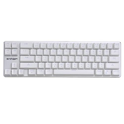 Qisan Wired Keyboard Brown Backlight 68-Keys