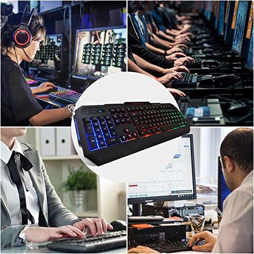 LumsBurry USB Wired Gaming Keyboard and