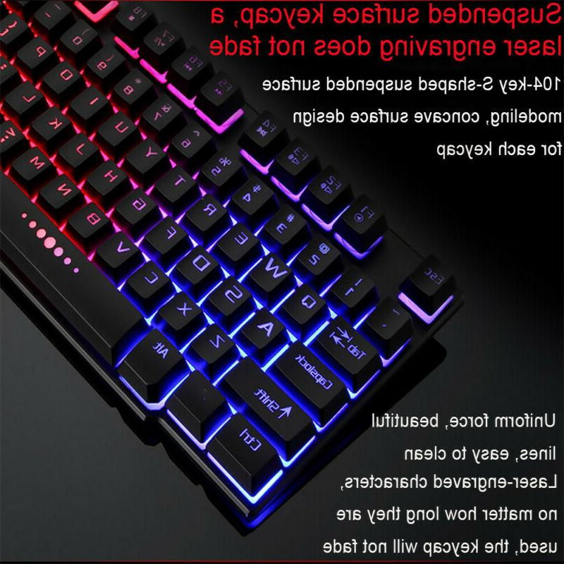 Rainbow Wired Feeling Multimedia Gaming