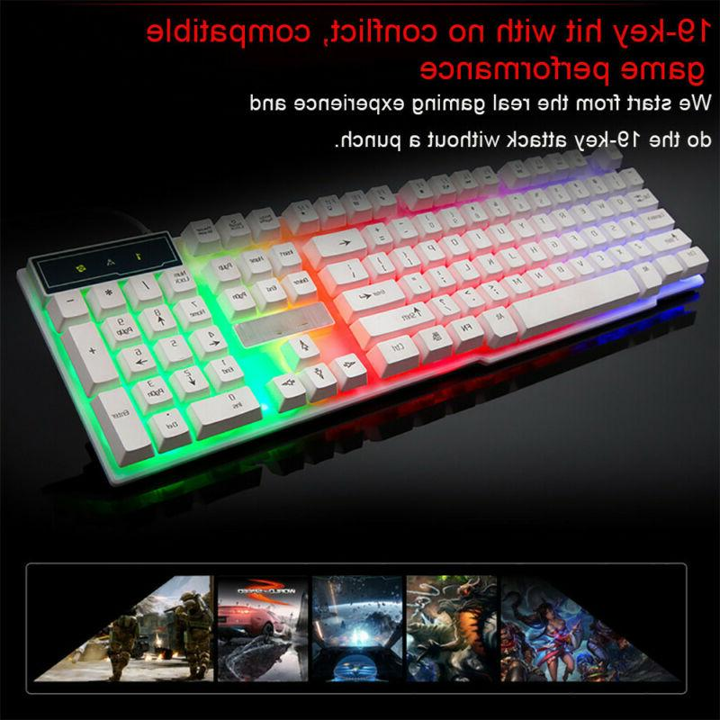 Wired Gaming Keyboard PC