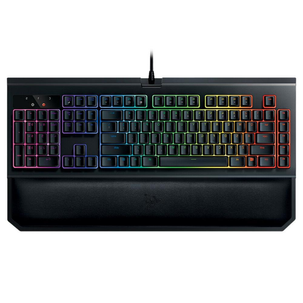 razer blackwidow chroma rgb mechanical gaming keyboard ergon