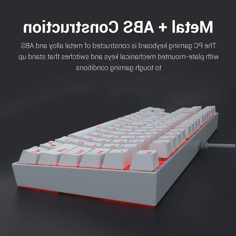 NEW - Mechanical Keyboard Compact Key Kumara Wired.
