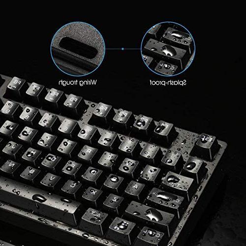 VicTsing RGB Gaming Keyboard, Gaming Multimedia for