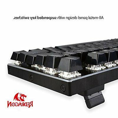 Mechanical Keyboard Aluminum Base 104 Standard