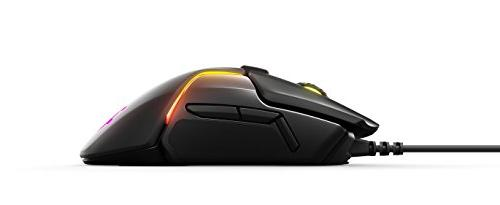 SteelSeries Mouse TrueMove3+ Dual - 0.5 Distance - Weight RGB