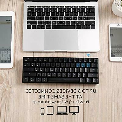RK61 Mechanical Gaming Bluetooth Keyboard