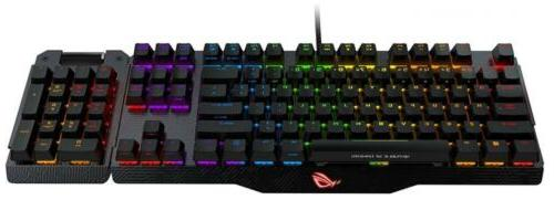 ASUS ROG Aluminum-Alloy Gaming Keyboard Overclocking