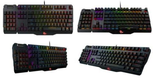 ASUS ROG Aluminum-Alloy Mechanical Gaming Keyboard w/ One-click Overclocking US