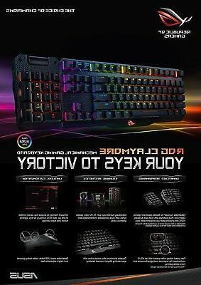 ASUS ROG Claymore MX Red Gaming Keyboard