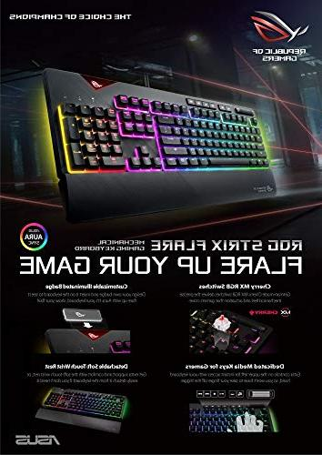 ASUS ROG Strix Flare Aura Sync RGB Mechanical
