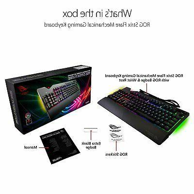 ASUS Strix Aura Sync Gaming Keyboard...