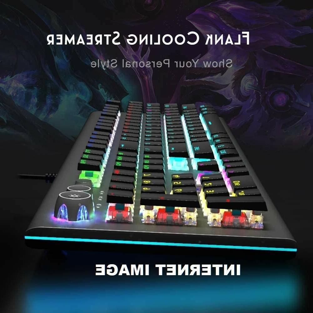 SEALED AULA RGB Mechanical USB Gaming Release