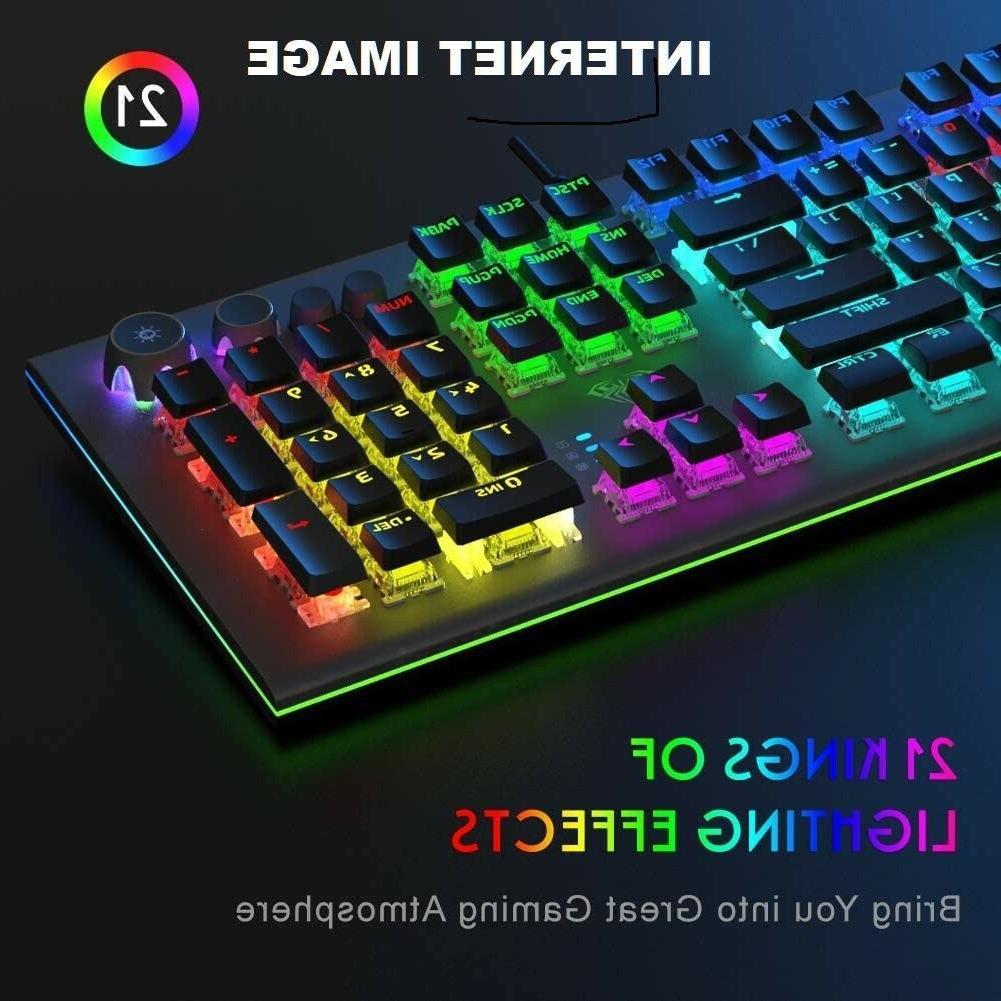 SEALED BOX RGB Mechanical Gaming Release