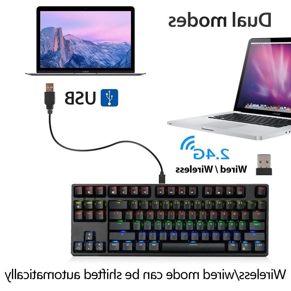 RK Gaming Blue Switch ROYAL RGB Backlight for <font><b>PC</b></font> Laptop Notebook