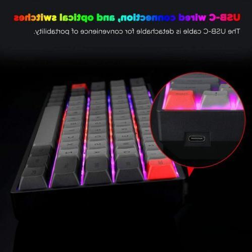 SK64 Mechanical RGB Swap Axis