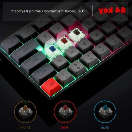 SK64 GK64 RGB PBT Hot Swap