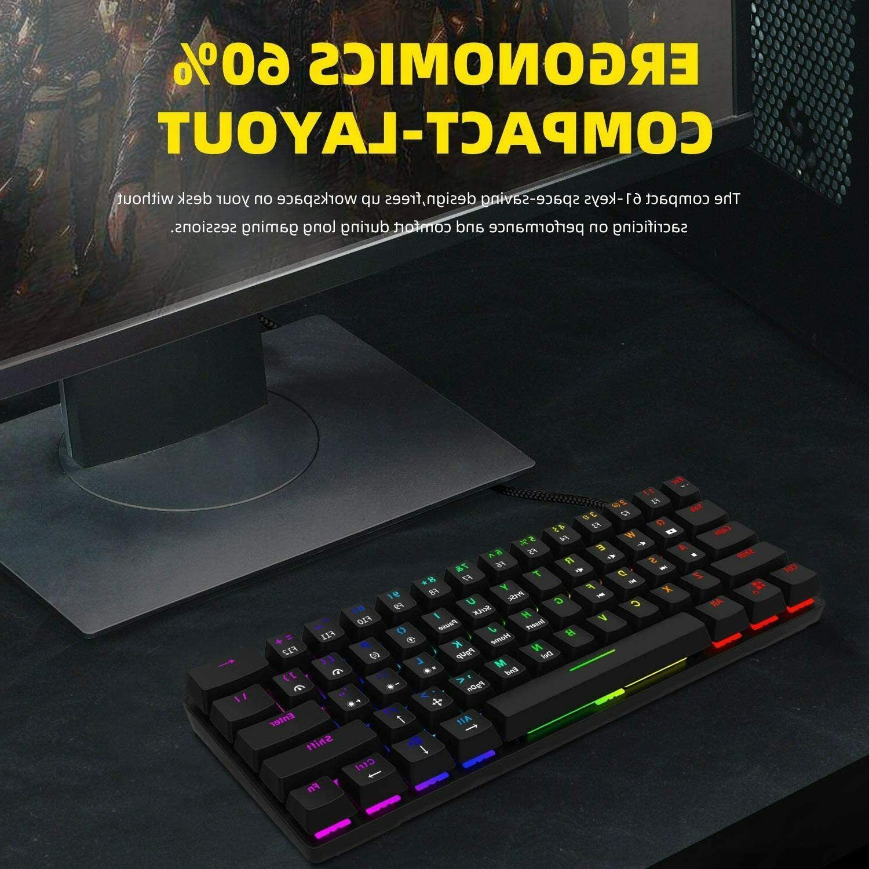 Smart Duck XS61 Ultra Keyboard Colors