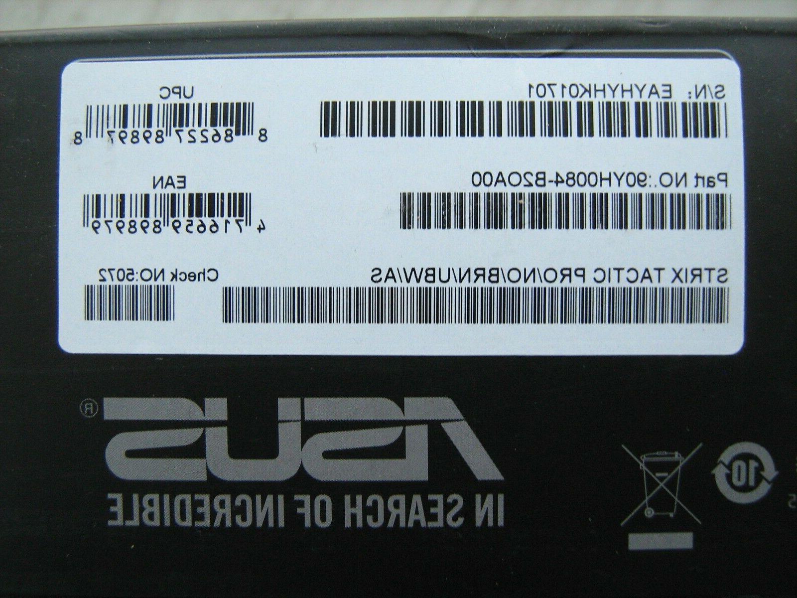 ASUS Tactic Pro Gaming Keyboard MX Brown