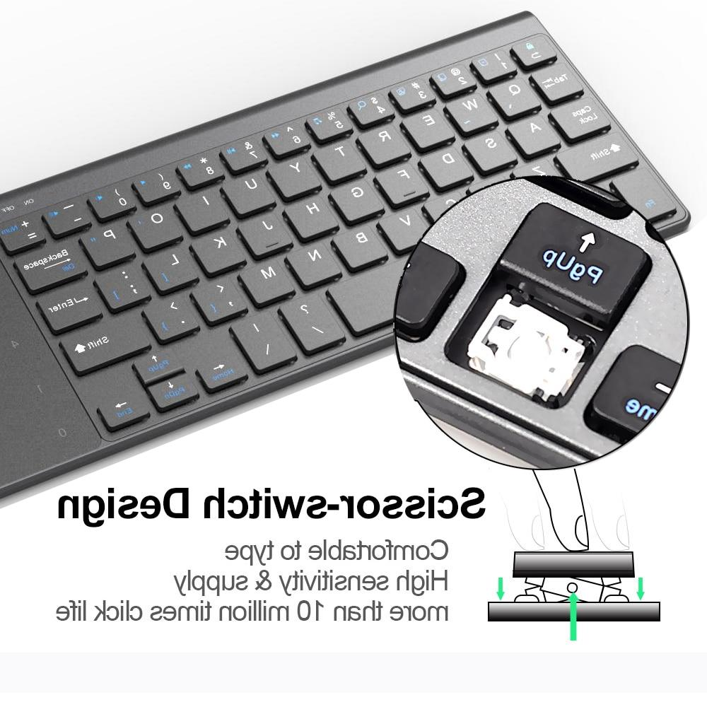 Thin Wireless <font><b>Keyboard</b></font> Number Touchpad for Android windows