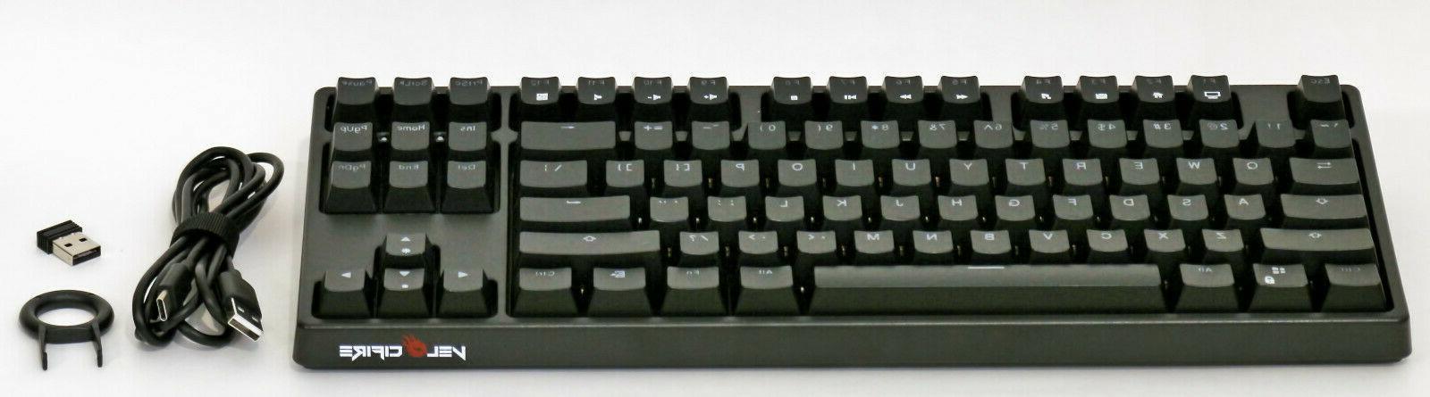 tkl02ws wireless mechanical keyboard usa layout white