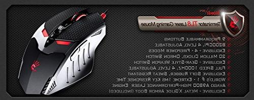 BLOODY TL80 Laser Gaming Weapon 8200CPI Macro Gaming