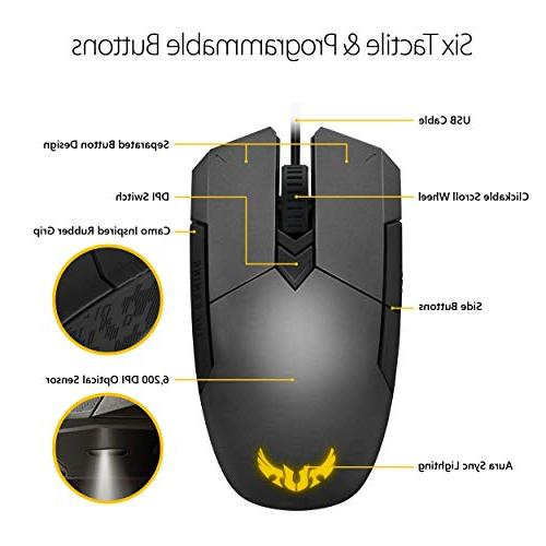 ASUS Battle Box Mouse A 6200 Mechanical and Lighting