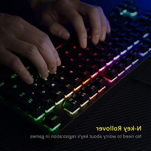 DREVO RGB Backlit Mechanical Gaming Keyboard Programming Media Outemu Brown