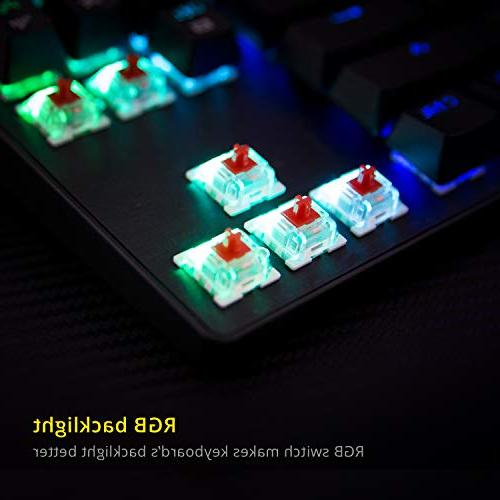 DREVO RGB Mechanical Keyboard Tenkeyless Programming Media Outemu Switch Black