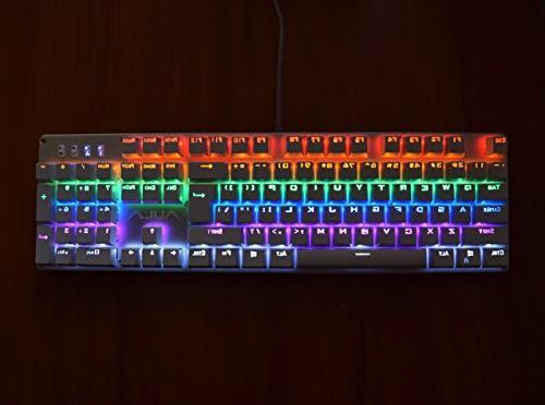 AULA Unicorn Mechanical Keyboard Illuminated