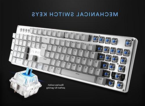 AULA Keyboard with Illuminated Computer Keyboard